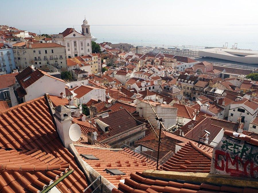 Miradouros Lissabon