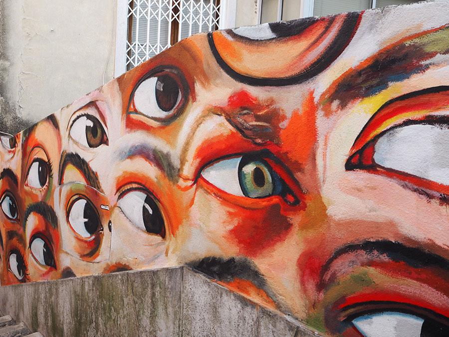Street art Lissabon | Saudades de Portugal