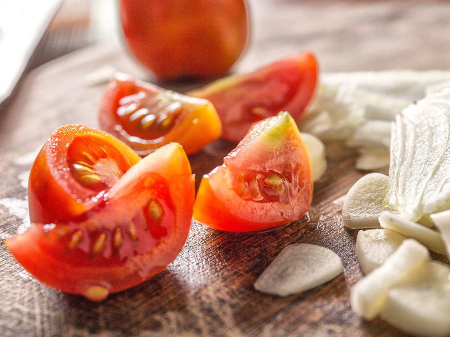 Tomaten salade | Saudades de Portugal
