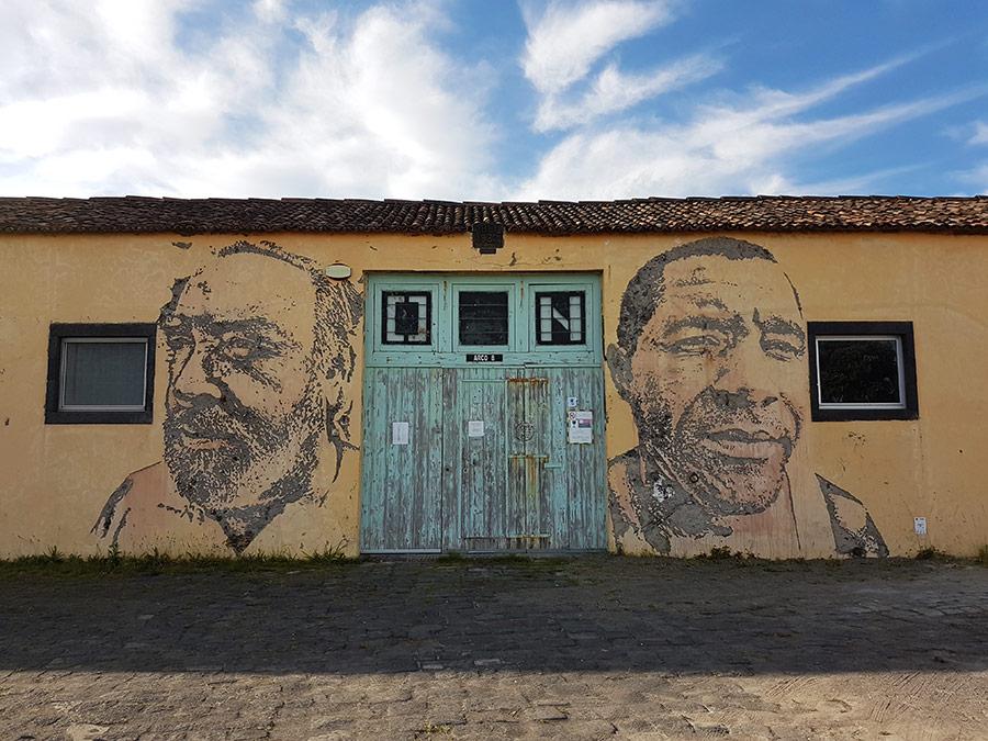 Street art Azoren | Saudades de Portugal