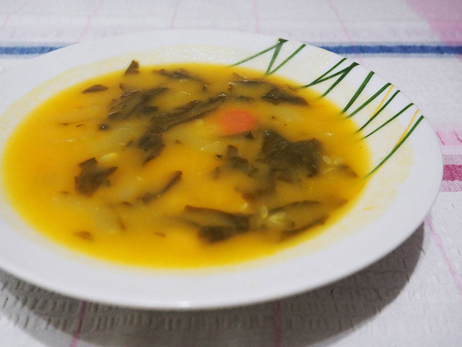 Sopa de legumes | Saudades de Portugal