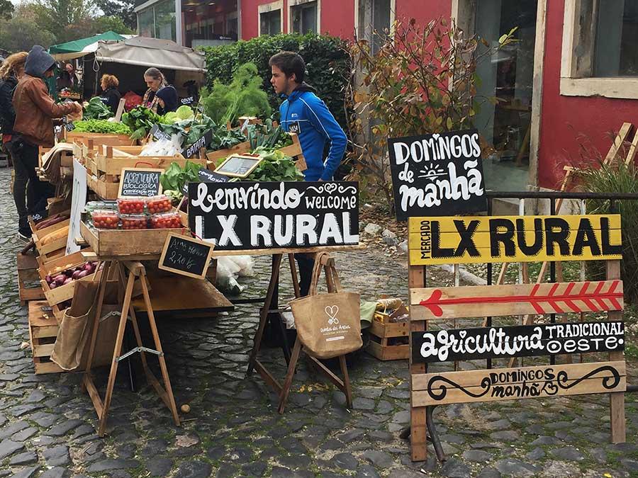 Markten Lissabon