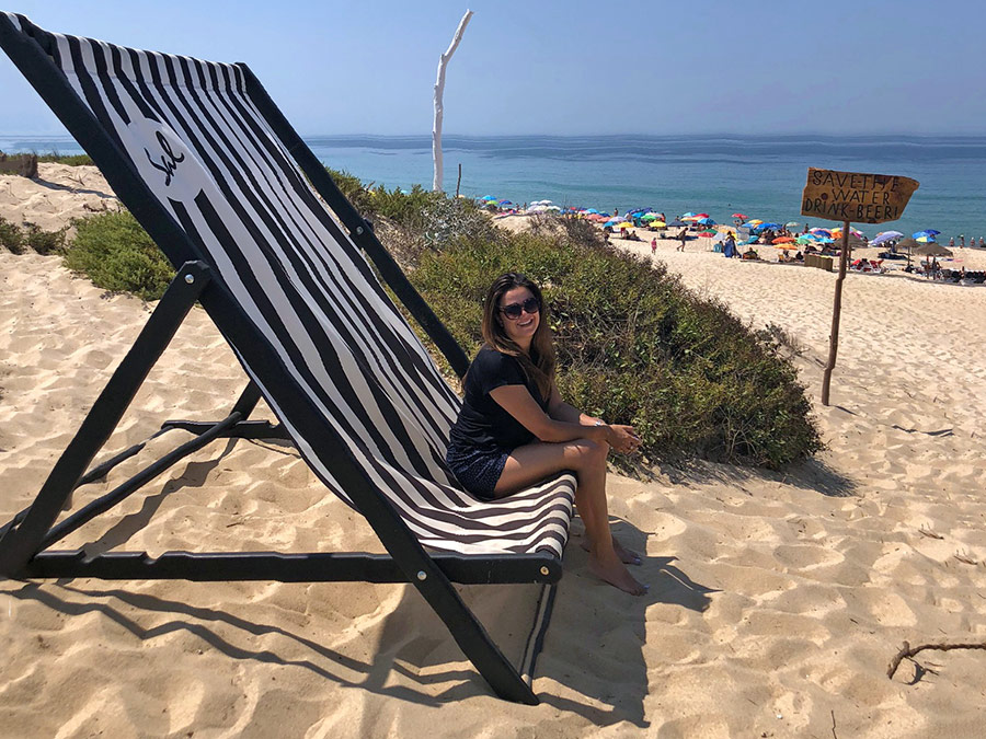 Carla in Comporta   Saudades de Portugal