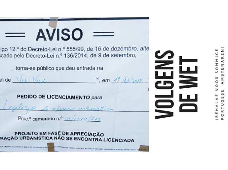 Hello Casa Oliveira: Bouwvergunning