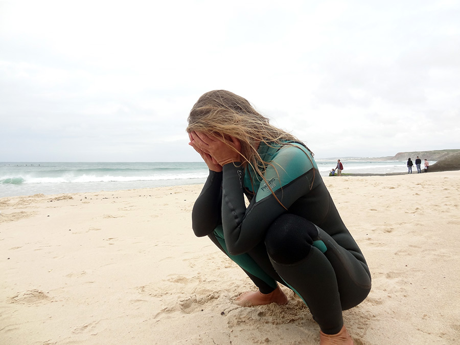 Surf & Yoga: Surfen | Saudades de Portugal