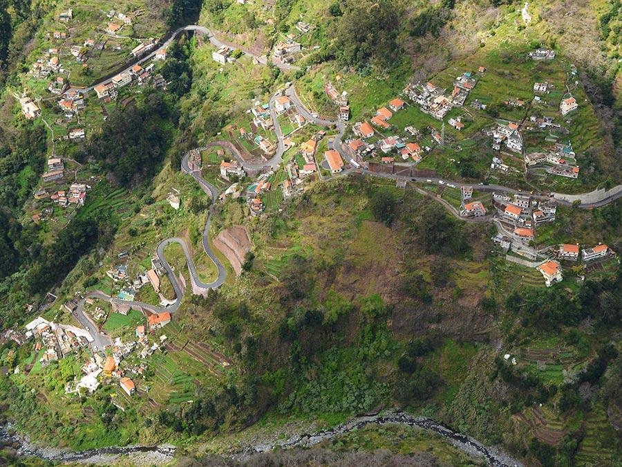 Madeira in Vogelvlucht