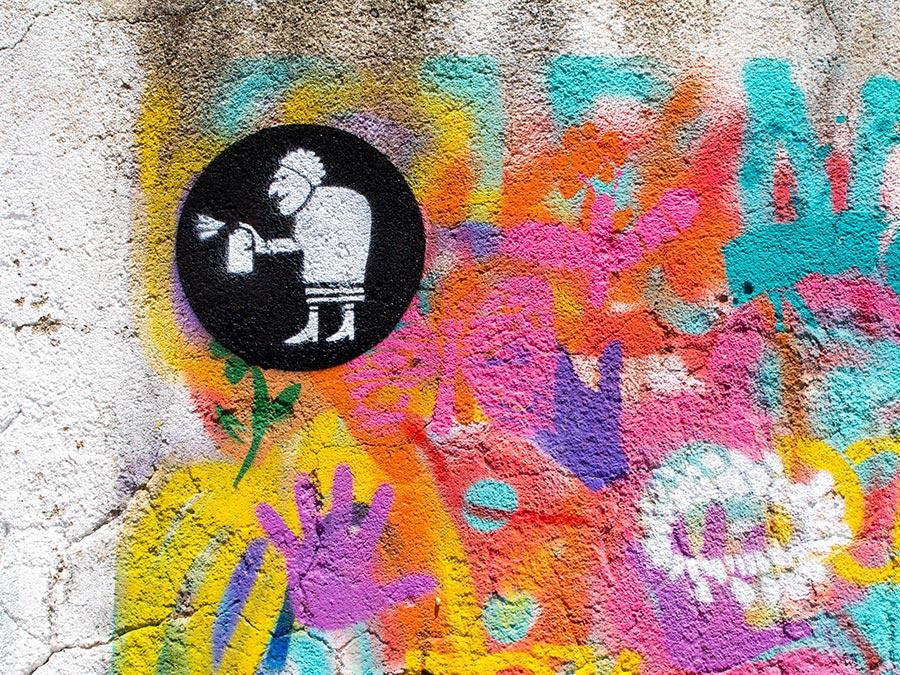 Street Art: Lata 65